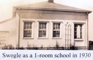 Swegle as a 1-Room School in 1930