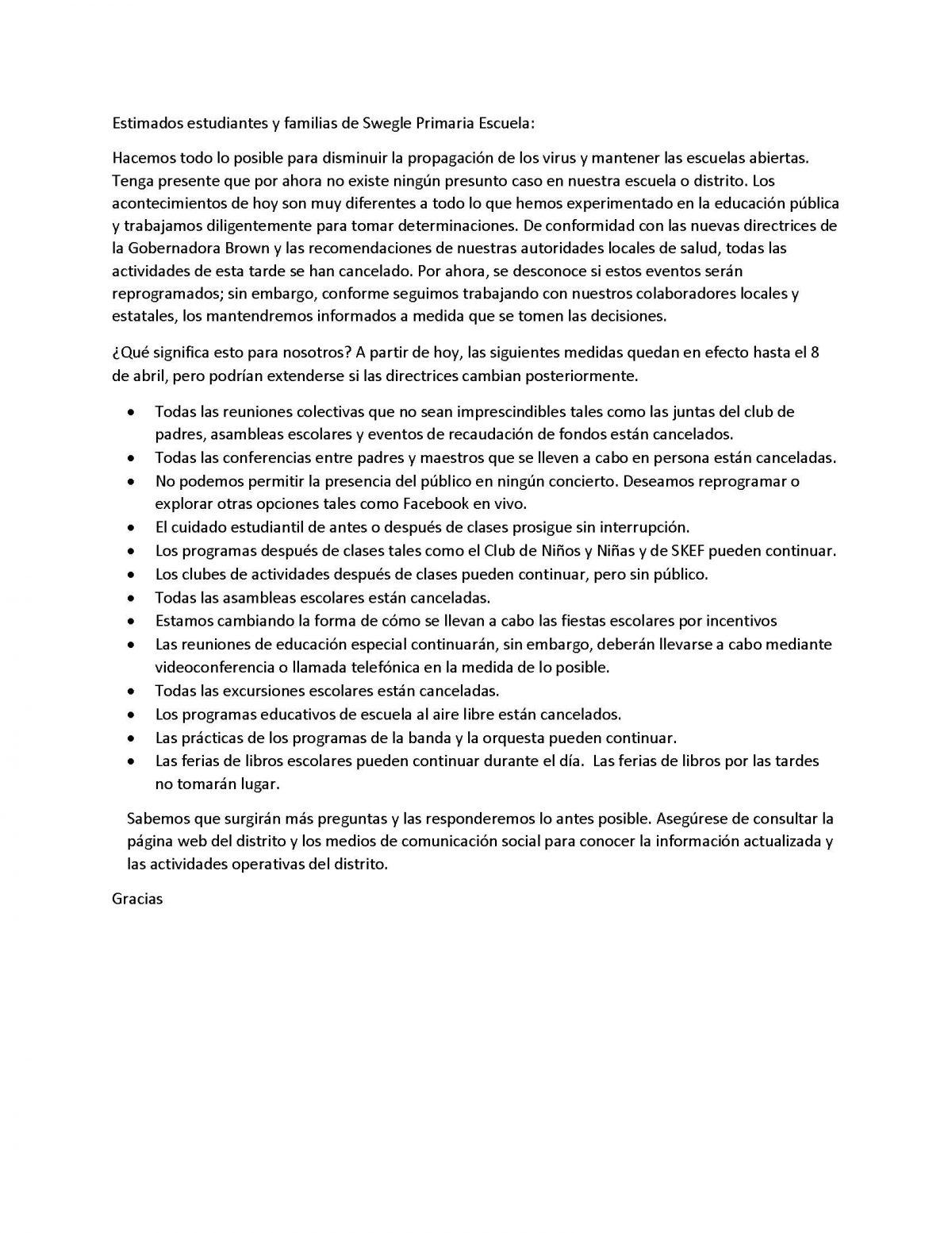Spanish COVID-19 Info